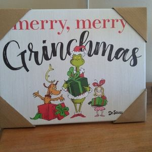 Grinch Christmas decor